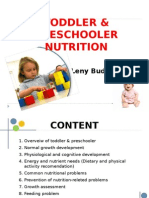 Toddler & Preschooler Nutrition