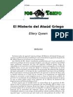 Queen, Ellery - El Misterio Del Ataud Griego