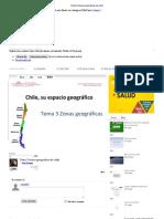 Tema 3 Zonas Geograficas de Chile