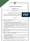 decreto_1290 Evaluación y promción