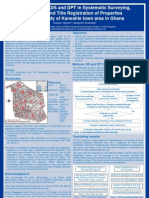 Application of GIS and DPT in Systematic Surveying, Inventory and Title Registration of Properties – A pilot study of Kaneshie town area in Ghana