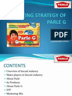 Marketing strategy of Parle G