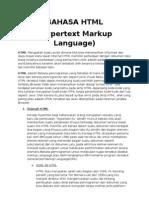 Bahasa HTML