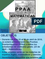 EJERCICIOS DE PRÁCTICA PPAA 2010