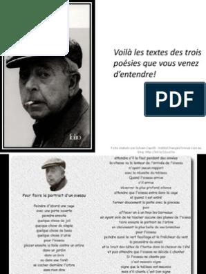 Jacques Prévert Parolespdf