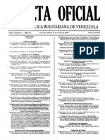Ley Orgánica de Descentralización marzo de 2009
