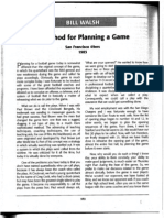 Bill Walsh - A Method for Game-Planning