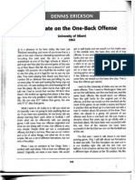 Dennis Erickson - One Back Offense