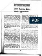 John Robinson - The USC Running Game