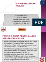Penilaian Bahasa Berasaskan Projek Presentation