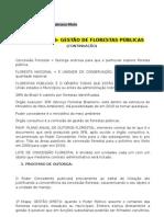 2010.01.08 - Dir. Ambiental - GESTÃO DE FLORESTAS PÚBLICAS