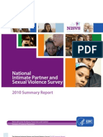 The National Intimate Partner and Sexual Violence Survey 2010 - Summary Report