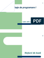 Limbaje de Programare I