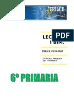 COMPRENSIÓN LECTORA PARA 6TO DE PRIMARIA