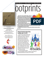 May 2013 JUMC Footprints