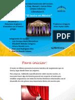El teatro en México-Literatura II-4°A