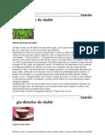 Antologia Dietelor de Slabit