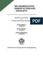 Texture Segmentation Wavelets & Gabor