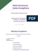 Clase 03 - Métodos Energéticos
