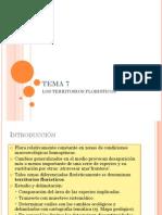 TEMA 7 Territorios Floristicos
