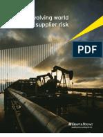 The Evolving World of Supplier Risk