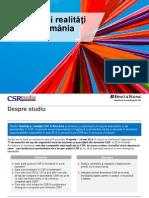 Studiu Tendinte Si Realitati CSR in Romania CSRmedia.ro Ernst&Young