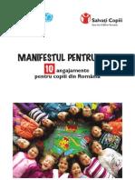 Manifest Pentru Copii Unicef - Salvati Copiii