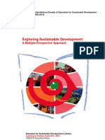 Exploring Sustainable Development