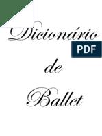 dicionário de ballet