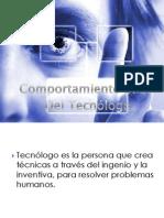 Comportamiento Etico Del Tecnologo