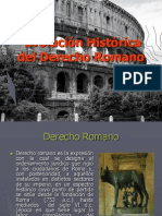 Evo Luci on Historic Adel Derecho Romano