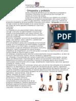 Ortopedia y prótesis