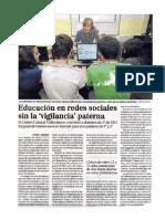 Artículo en el diario El Mundo de Valladolid