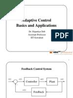 Basics Adaptive Control DDEB