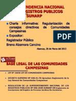 CHARLA REGULARIZACION DE DIRECTIVA COMUNALES.ppt