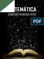 31 questões resolvidas FAETEC.pdf