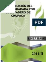 RESTAURACIÓN DEL AREA DEGRADADA POR EL BOTADERO DE CHUPACA