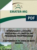 Integração Lavoura, Pecuária e Floresta Em Pequenas Propriedades - Simpósio 1º ILPF