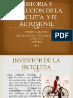 Historia y Evolucion de La Bicicleta y El