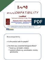 Biocompatibility Principles