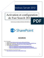 Activation et configuration de FastSearch 2013 (tuto de A à Z)