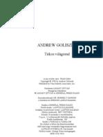 Andrew Goliszek - Titkos világrend