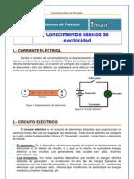 1) Conocimientos básicos de electricidad (ok)