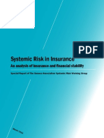 Geneva Association Systemic Risk in Insurance Report March2010