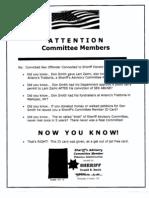Putnam Republican Committee Mailing Paperwork