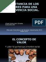importanciadelosvaloresparaunaconvivenciasocial-110410203414-phpapp01