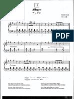 Suzuki Piano School Volume 1-Allegro