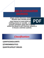 l3 Anticoagulants, Diuretics , Antidiuretics