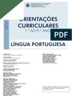 ORIENTAÇÕES CURRICULARES LINGUA PORTUGUESA