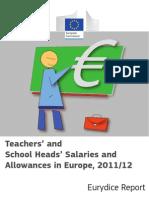 Teachers' Salaries